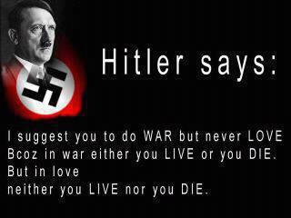 Hilter sayings