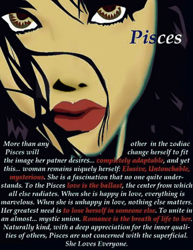 A Pisces woman | POiSON WORLD