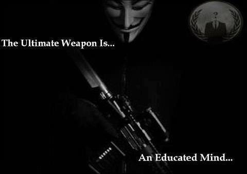 The ultimate weapon- educated mind