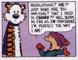 My finial new year resolution