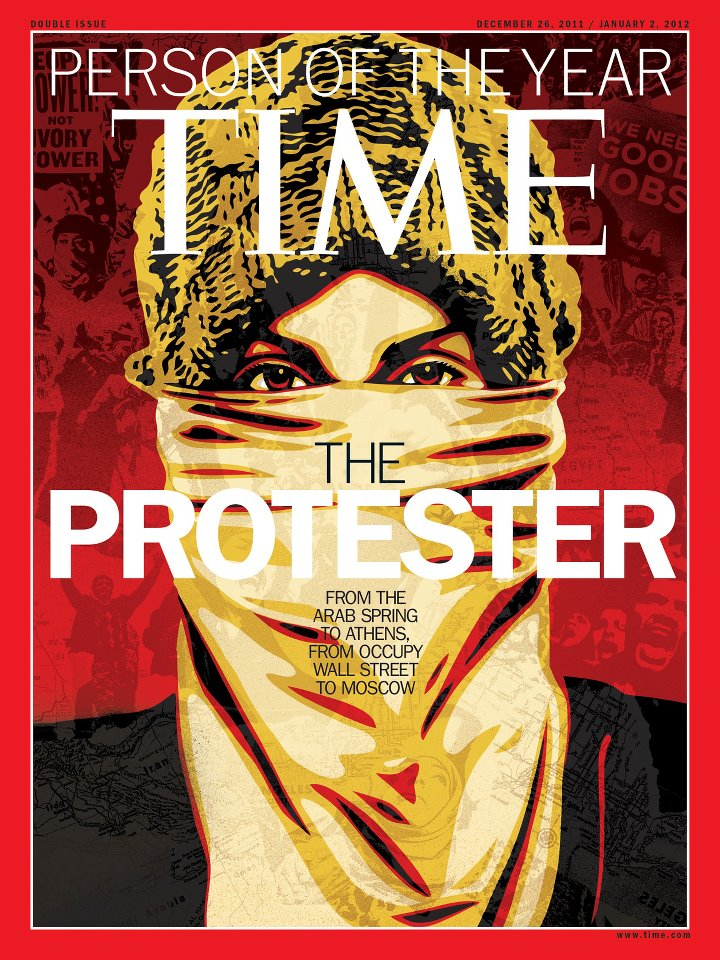 The Protester-Person Of The Year By Time