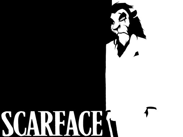 Another Scarface,disney, scar, scarface, Scarface Of Walt Disney, Walt, Walt Disney