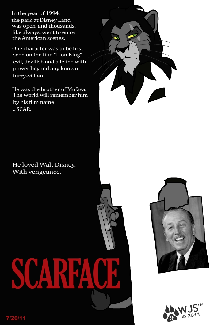 scarface of walt disney