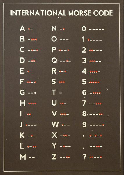 International Morse Code,International, Morse Code,International ,Morse, Code