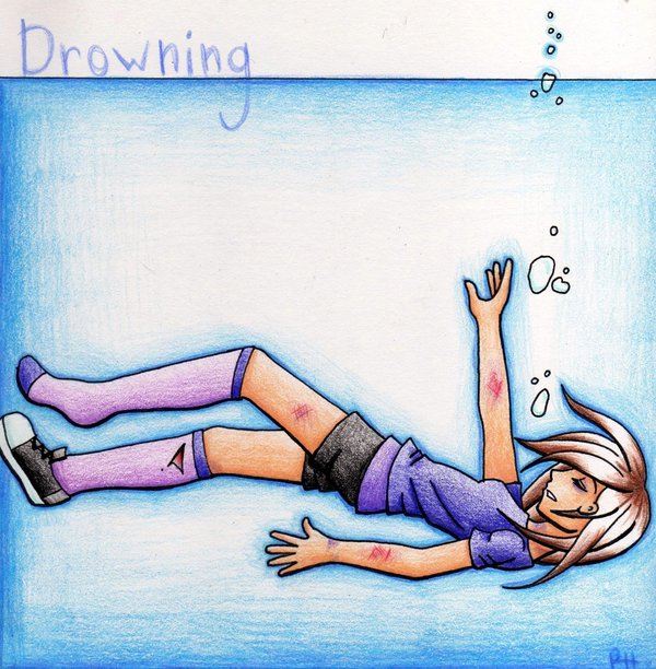 Drowning Girl Cartoon Sketch,Drowning Girl ,Cartoon Sketch,Drowning, Girl ,Cartoon ,Sketch,toon,little girl in water,doob raha,dying