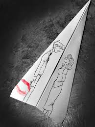 Short Love Story But Lovely Love Story,Simply Happy With Him,A Kiss On Paper Plane, cartoon, destiny, disney, Disney Short Film, Disney – Paperman Short Film, DisneyPaperman, flim, hope, love, lv, man, men, Paperman, paperman girl drawing, Paperman Short Film, Short Film, woman, women