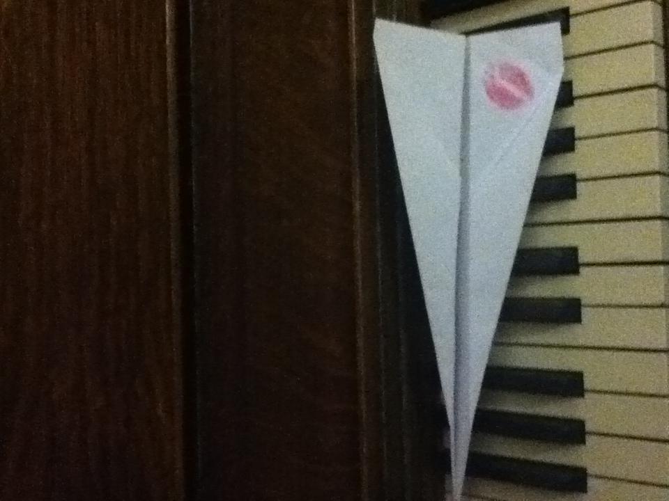 A Kiss On Paper Plane