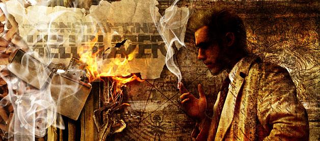 comic, constantine, guy, guy thing, hellblazer, john, john constantine, john_constantine, man, no smoking, smoke, Smoking, hellblazer,movie,