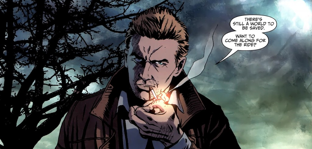 Wanna Come For A Ride,Wanna Come,Ride,world,comic,constantine,smoke,smoking,no smoking,guy thing,guy,man,hellblazer, john, john constantine, john_constantine,