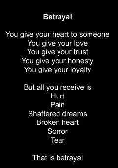 Betrayed Love,Betrayed,Love,hurt,pain,trust,