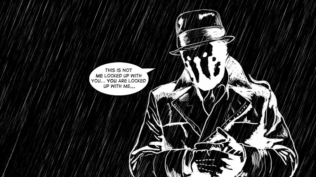 Rorschach,watchmen, watchmen comic, watchmen movie, watchmen Rorschach,sketch,rorschach black and white,black and white