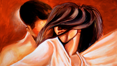 You And Me,love,lover,lover painting,love painting,painting of dream,dream of love,dream of lovers,