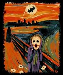 The Scream Painting Of Joker,The Scream Painting, Joker,Scream ,Painting Of Joker,Batman and Joker,Batman,