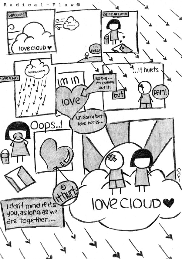 Love Cloud,Love,Cloud,girls love,crazy love,strange love,