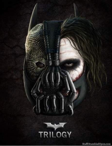 The Dark Knight Trilogy,The Dark Knight ,Trilogy,batman,joker,bane,mask,scarecrow