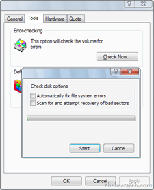 How to Run Disk Check in Windows 7,How to Run Disk Check in ,Windows 7,Run Disk Check,Run, Disk Check,