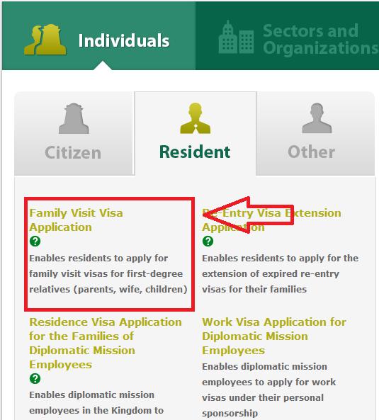 Apply for Family Visit Visa Online in Saudi Arabia , Family Visit Visa Online in Saudi Arabia,Apply for Family Visit Visa Online
