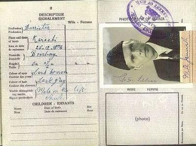 Quaid-e-Azam,Quaid-e-Azam Mohammad Ali Jinnah,Jinnah,Pakistan,India,Pak India, IndoPak,Indo Pak,India Pak,Brtish, Passport Office,  Passport, Office, Last Passport, Jinnah Passport,Quaid-e-Azam Passport,Quaid Passport,History Check,History Check,British Passport,British Indian Passport,
