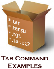 How to create and extract zip, tar, tar gz and tar bz2 files
