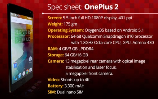 oneplus2-specs