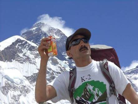 Hassan Sadpara,Pakistani,Mount Everest, K-2,