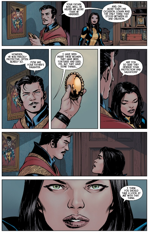 doctor strange scans wolverine with the eye of agamotto ,doctor strange scans wolverine ,with the eye of agamotto,eye of agamotto,eye of, agamotto, doctor strange,marvel comics,marvel movies,marvel comic,marvel movie,doctor strange marvel,marvel doctor strange,Wolverine (Laura Kinney) ,Wolverine Laura Kinney,logan comic,comic logan,marvel logan,marvel laura kinney,Wolverines To X23,Wolverines, Most Important Lesson To X23,Wolverine,Wolverines X23,MArvel Comics,Comic,Logan,