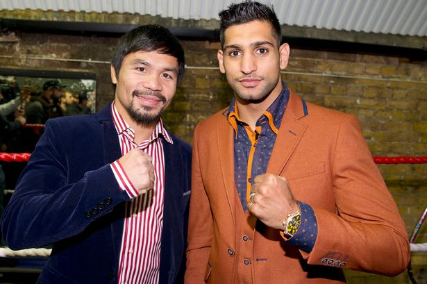 Amir-Khan-to-fight-Manny-Pacquiao,The British-Pakistani boxer Amir Khan has been in the news for all the weird reasons. Now, there is a great news for all the boxing fans. Amir Khan to fight Manny Pacquiao this April. On Sunday, Philippine boxing hero Manny Pacquiao and our Pakistani boxer Amir Khan confirmed this news after the weeks of conflicting news.